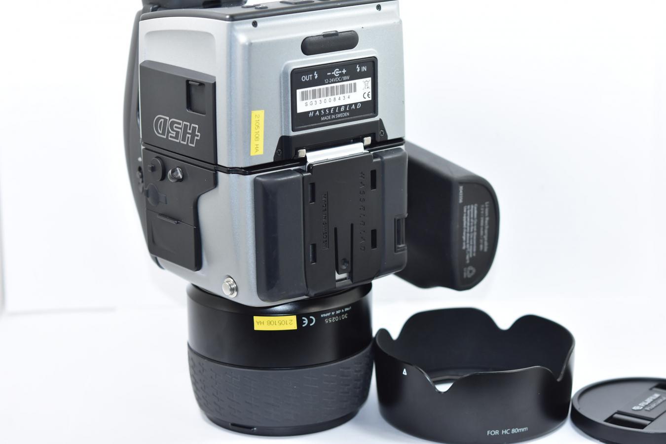【通信販売限定商品】HASSELBLAD H5D-40 HASSELBLAD SUPER-EBC FUJINON HC 80/2.8付 【ショット数約9600 元箱付一式】
